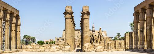 panorama temple Luxor #90294878