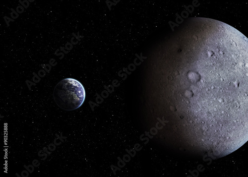 Hight quality solar system planets #90325888