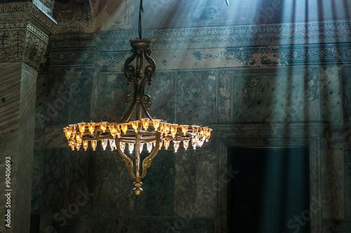 Canvas-taulu Hagia Sophia interior, Istambul, Turkey