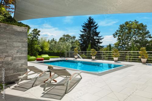 Fényképezés house with pool