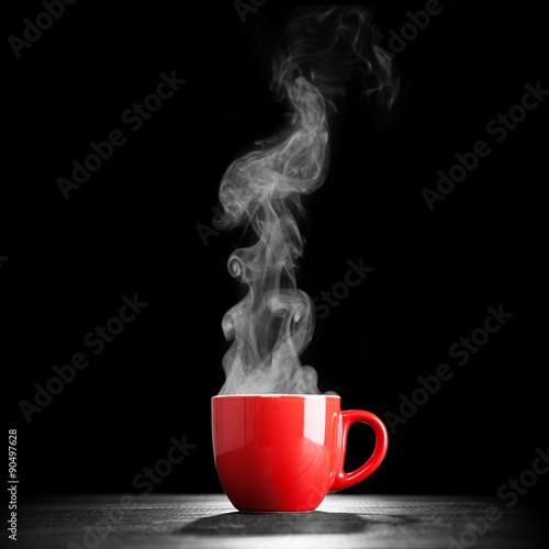 Fotografia Steaming coffee cup