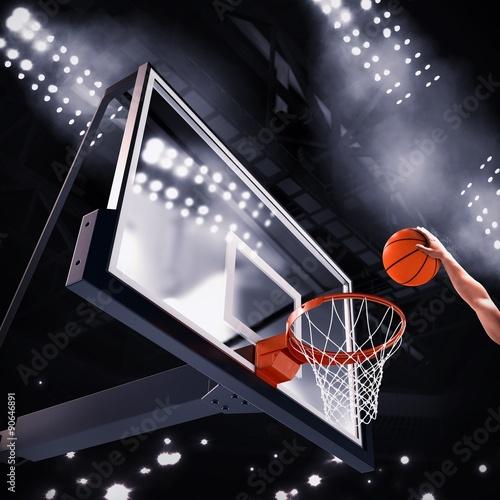 Wallpaper Mural Player basket