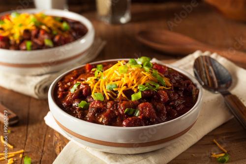 Slika na platnu Homemade Organic Vegetarian Chili
