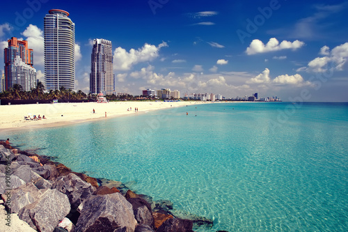 South Beach, Miami Fototapete