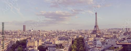 paris panoramic landscape #90946448