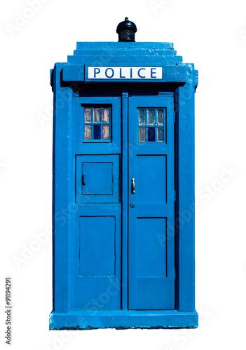 Wallpaper Mural Traditional UK Police Box