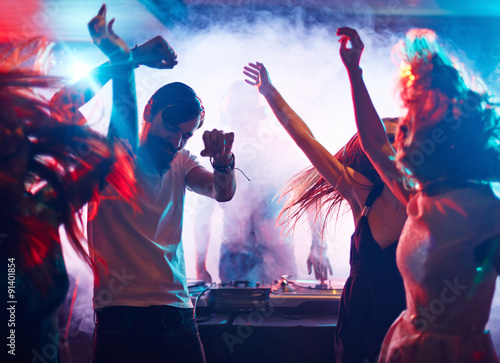 Dancing friends #91401854