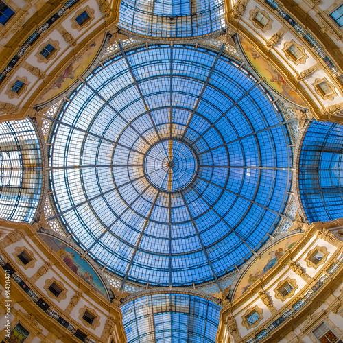 Stampa su Tela Dome in Galleria Vittorio Emanuele, Milan, Italy