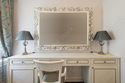 Valokuva Dressing table in bedroom interior