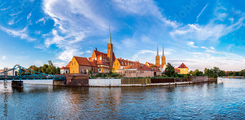 Canvas Print Cathedral St. John in Wroclaw
