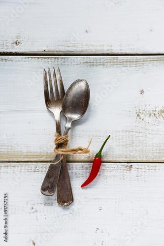 Fényképezés fork and spoon