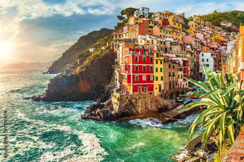 Obraz na plátně Riomaggiore, Cinque Terre, Italy