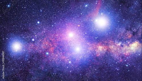 Obraz na plátne Milky way stars.