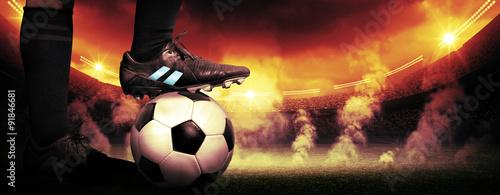 Fotografia Soccer protest