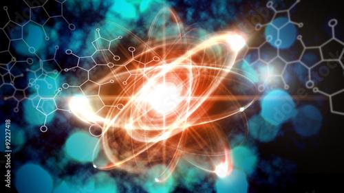 Photo Atom Particle