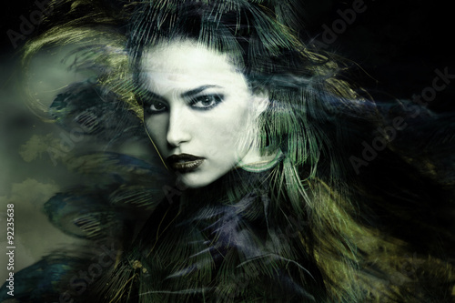 sorceress Fototapeta