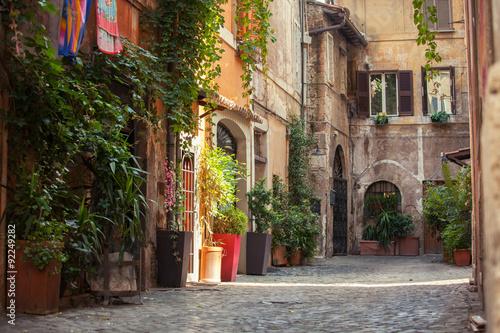 Roman street #92249282
