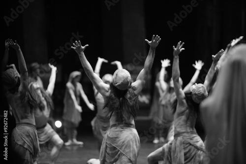 Aboriginal ritual, theatrical performance