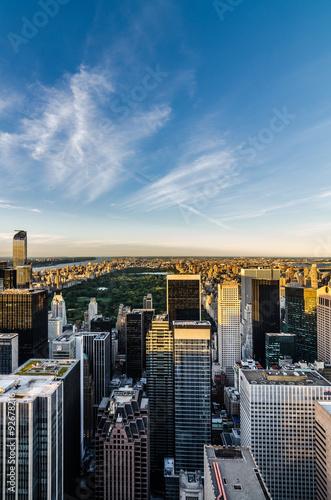 Nueva York desde Top of the Rock Fototapeta