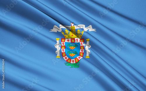 Flag of Melilla, Spain, Autonomous City of Melilla