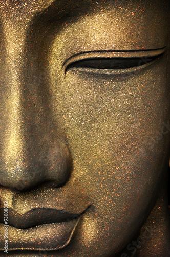 Murais de parede The face of Buddha