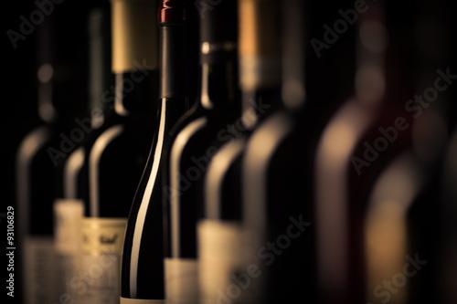 Fototapeta Bottles of wine