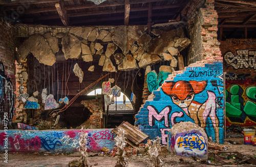 Wallpaper Mural Graffiti