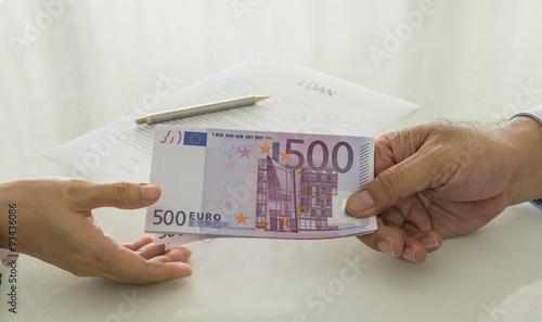Obraz na płótnie loan