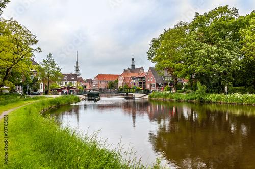 1763 Emden - Rotes Siel Fototapet
