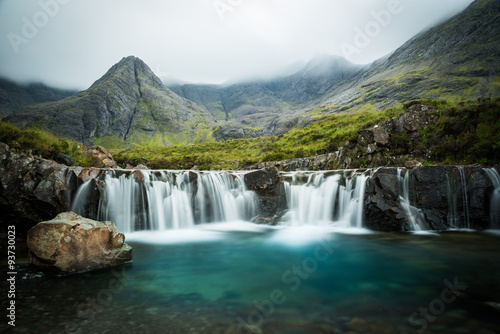 Fotografie, Obraz The Fairy Pools, Glen Brittle, Skye, Scotland