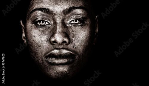 Plakat Afro Amerykanka