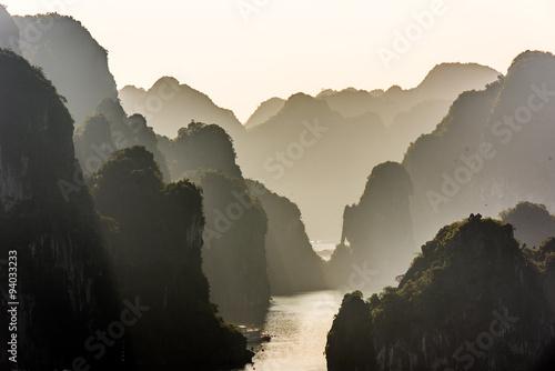 Halong Bay Vietnam Fototapeta