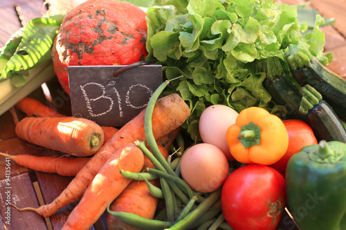 Organic  french Vegetables
