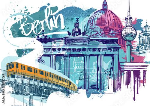 Fototapeta premium Berlin Travel