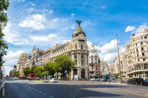 Metropolis hotel in Madrid, Spain