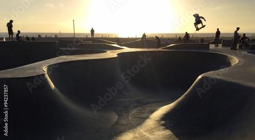 Photo Skateboarding in Venice Beach