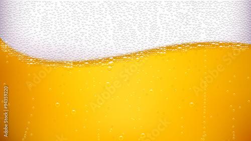 Canvas Print beer back wave