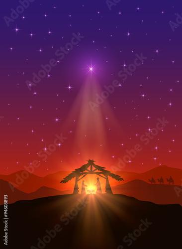 Fotografie, Obraz Christmas star