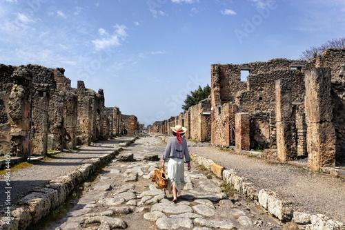 Canvas Print Pompei