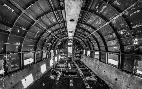 Платно Flugzeugwrack auf Island