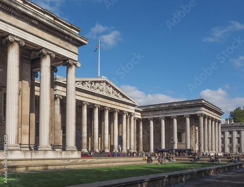 Carta da parati British Museum in London