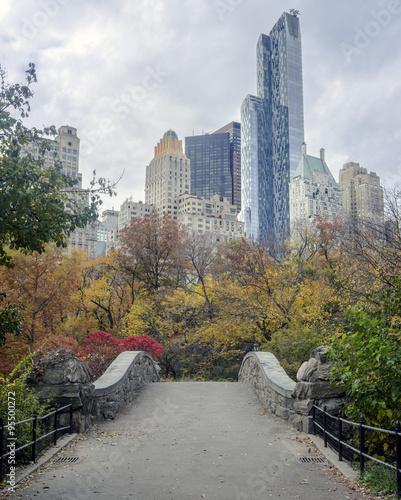 Tableau sur Toile Gapstow bridge Central Park, New York City