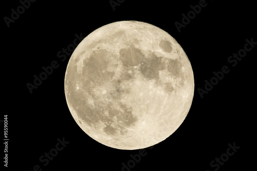 Full moon Fototapet