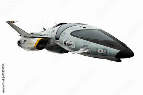 Fototapeta spaceship