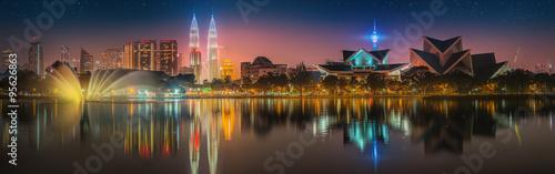 Photo Kuala Lumpur night Scenery, The Palace of Culture