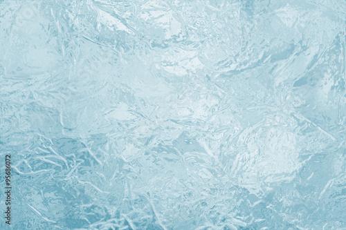 Valokuvatapetti illustrated frozen ice texture