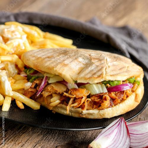 döner kebab et frites 4