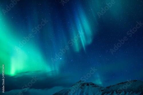 Amazing Northern light Fototapeta