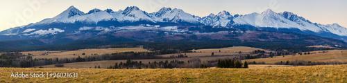 Panorama Tatr #96021631