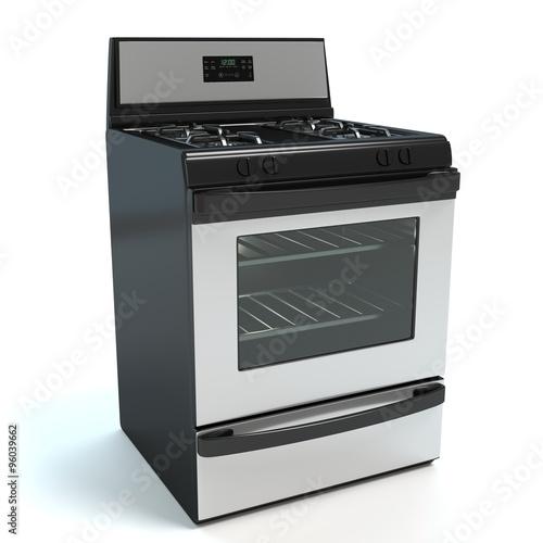 Slika na platnu 3d illustration of a stove
